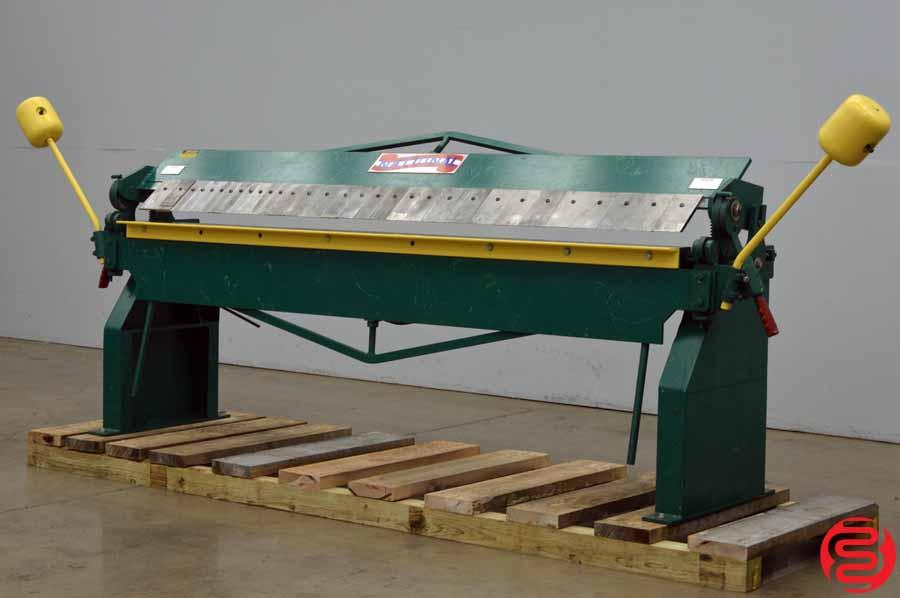 National 16 Gauge Model U9616 Sheet Metal Box and Pan Brake