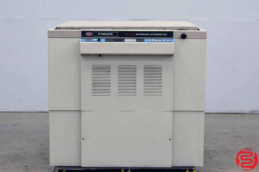 NuArc FT40APR Flip-Top Exposure System Platemaker
