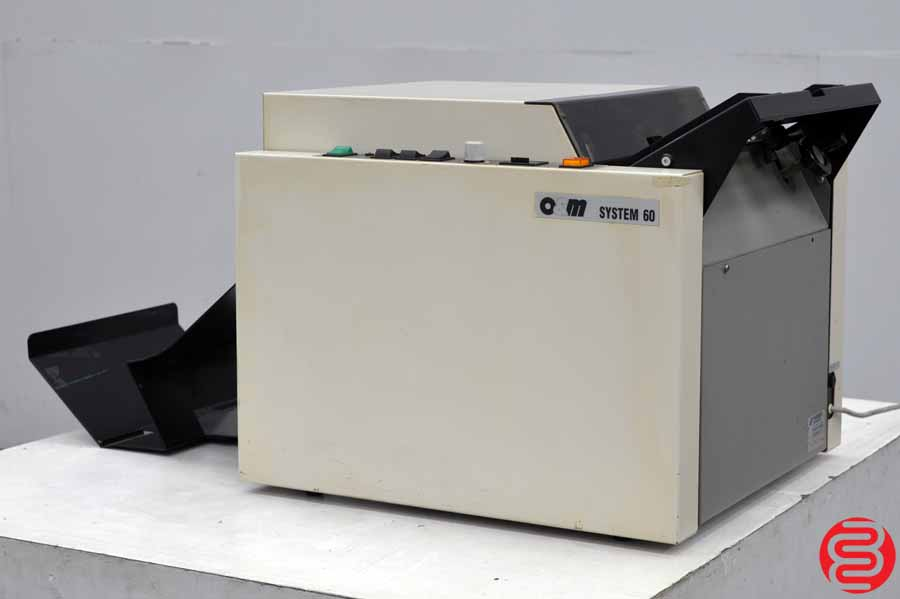 O & M Plockmatic System 60 Booklet Maker