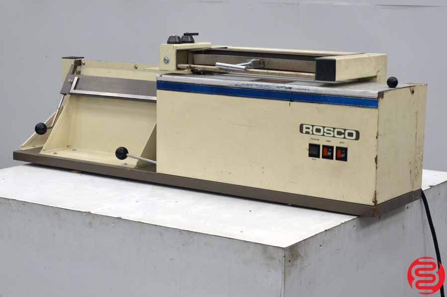 Rosback Model 200 Book Binding Machine