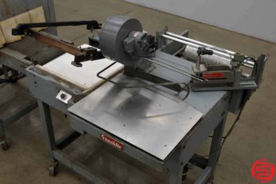 Shanklin S23C Shrink Wrap System w/ Magnetic Hold Down and Power Take Away