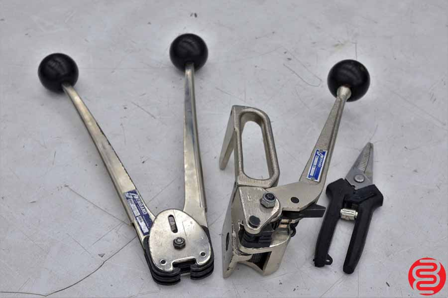 Steel Strapping Tools and Cart