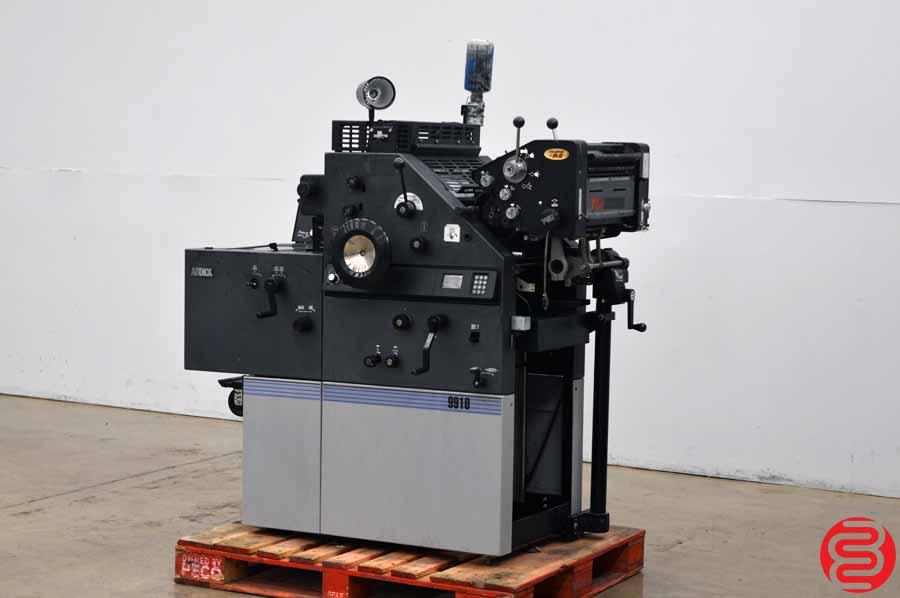 AB Dick 9910 Two Color Offset Press w/ T-51 Second Color Unit