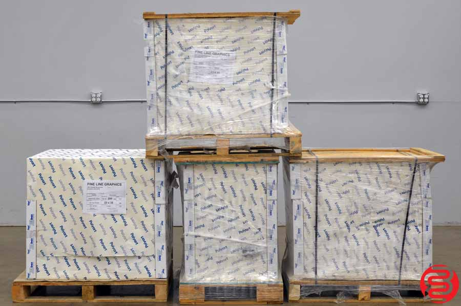 Arjobex America Polyart Synthetic 23 x 35 Paper - Qty 4 Pallets