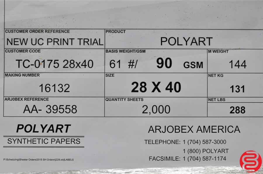 Arjobex America Polyart Synthetic 28 x 40 Paper
