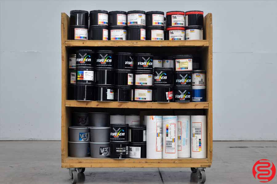 Assorted Printing Ink