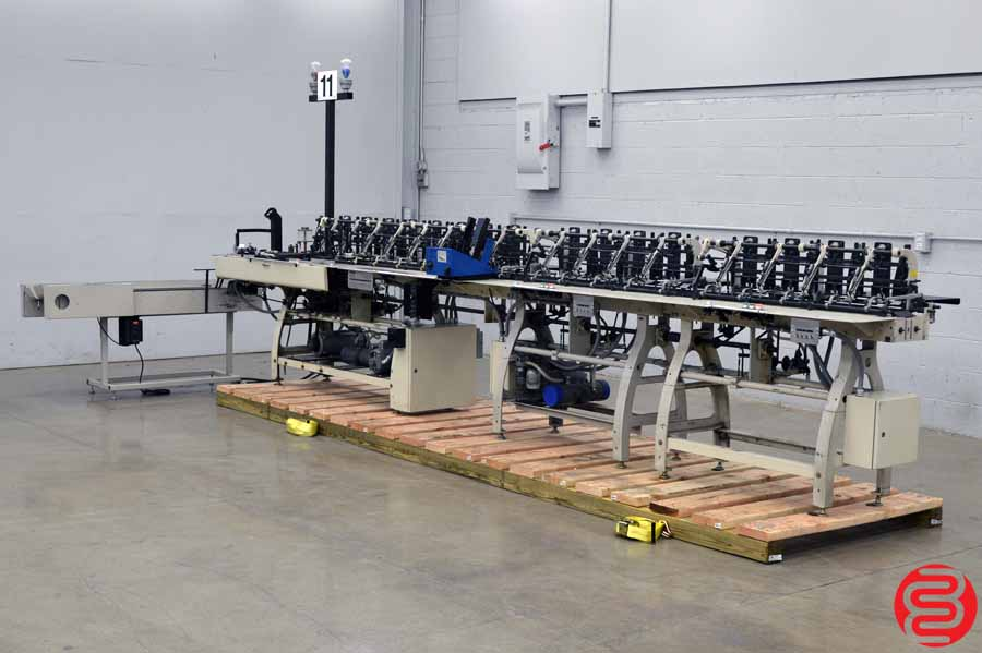 Bell and Howell A340 C15 16 Pocket Inserter w/ Sure-Feed SE-900-EX Feeder and Delivery Conveyor