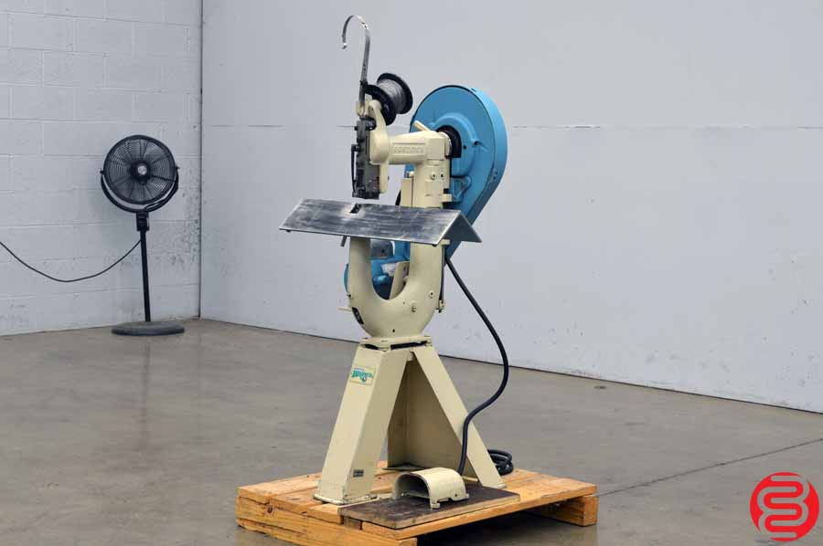 "Bostitch Model 2AW 1/4"" Flat Book / Saddle Stitcher"