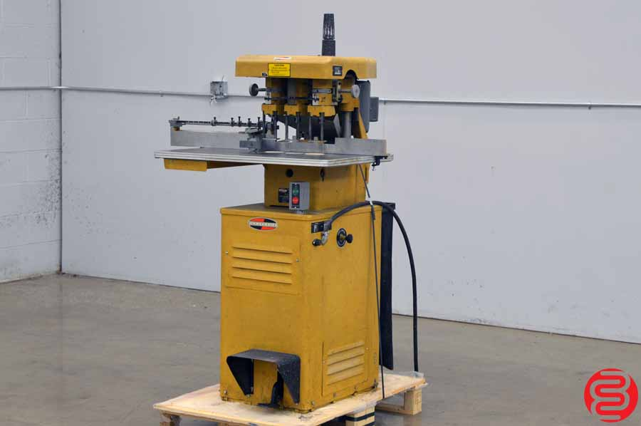 Challenge EH-3 Three Spindle Hydraulic Paper Drill