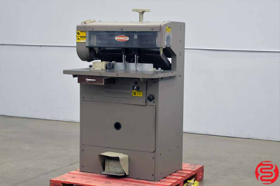 Challenge MS10 Five Spindle Hydraulic Paper Drill w/ Adjustable Back Gauge