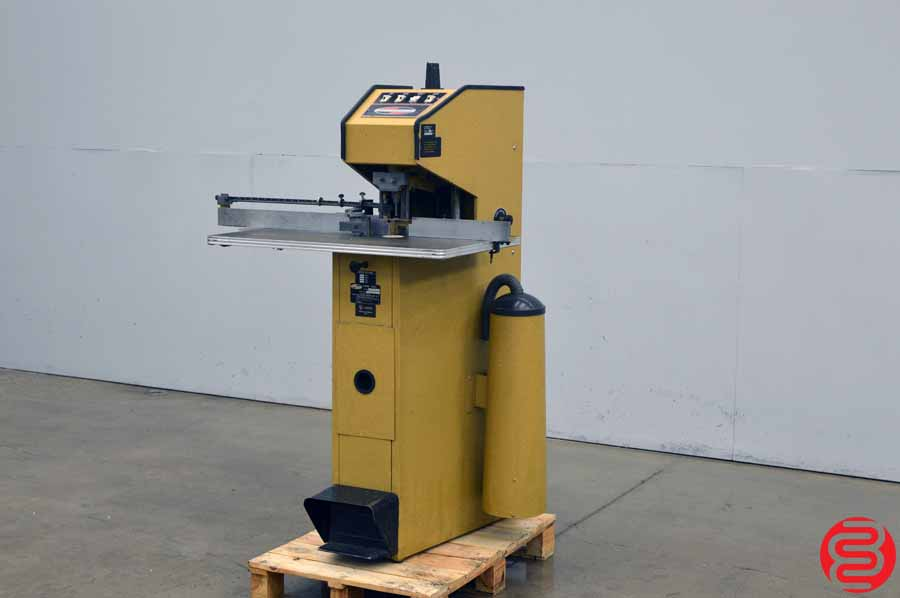 Challenge RKH Single Spindle Hydraulic Paper Drill