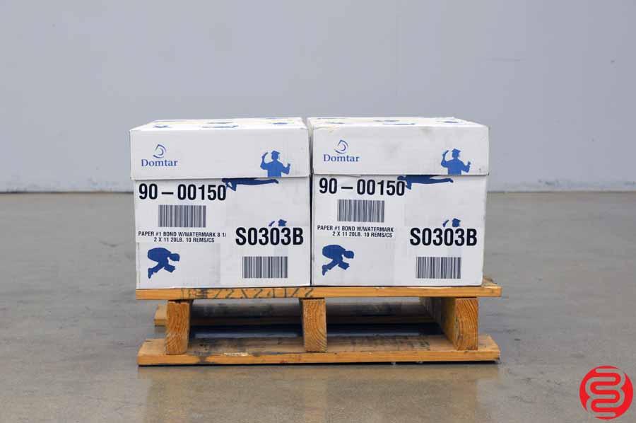 Domtar Nekoosa Bond Watermarked 20 lb 8 1/2 x 11 Paper - Qty 2 Cases