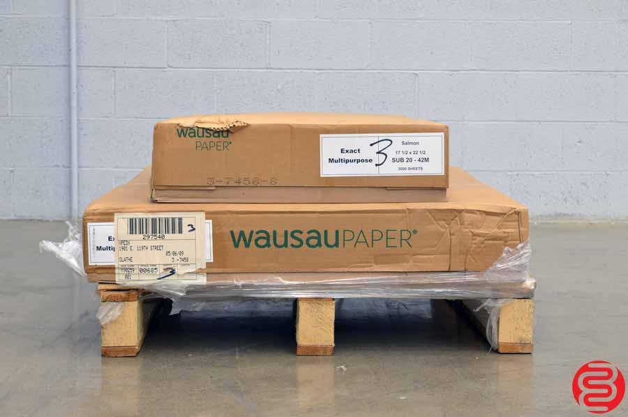Exact Multipurpose Salmon 17 1/2 x 22 1/2 Paper - Qty 3 Cases