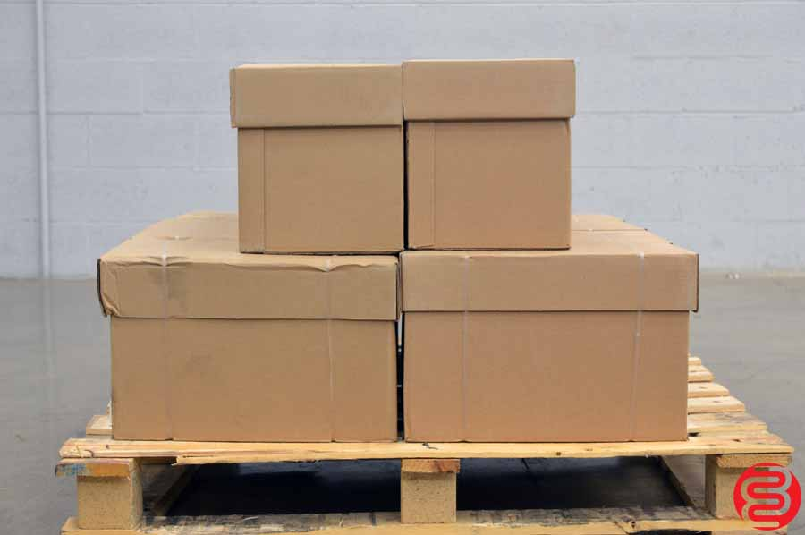 "1/2"" Greenbar 20# 14 7/8 x 8 1/2 Paper - Qty 12 Cases"