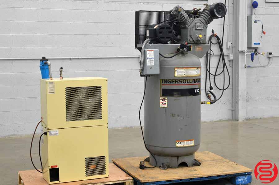 Ingersoll Rand T30 80 Gallon Air Compressor W Ds25 H