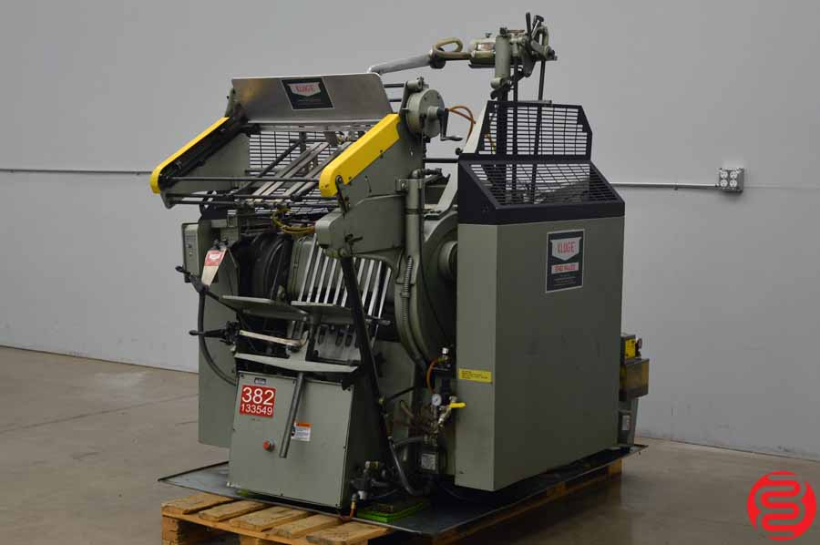 """Kluge EHD 14"""" x 22"""" Hot Foil Platen Press / Die Cutter / Embosser with Upgraded Safety Guards and Latches"""