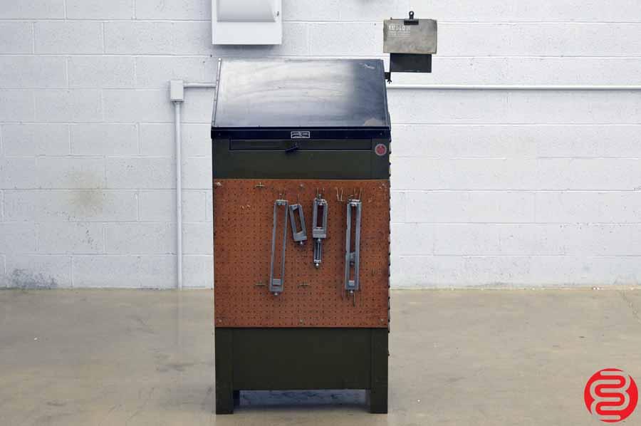Ludlow Letterpress Type Cabinet - 20 Drawer