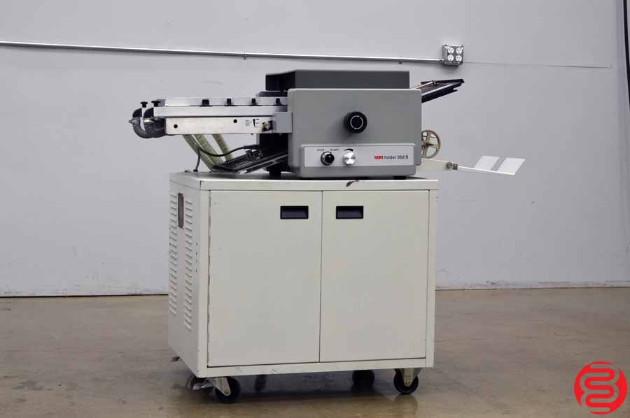 MBM Model FM 352 S Vacuum Feed Paper Folder