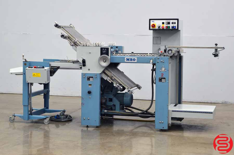 MBO T46 Pile Feed Paper Folder w/ Mobile Delivery