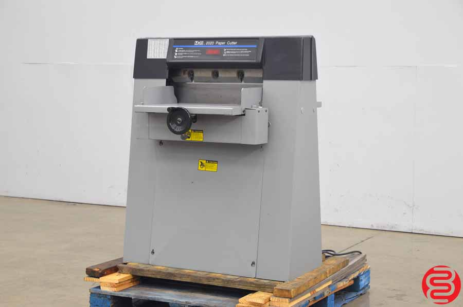 """Multi 2020 20"""" Hydraulic Paper Cutter w/ Digital Readout"""
