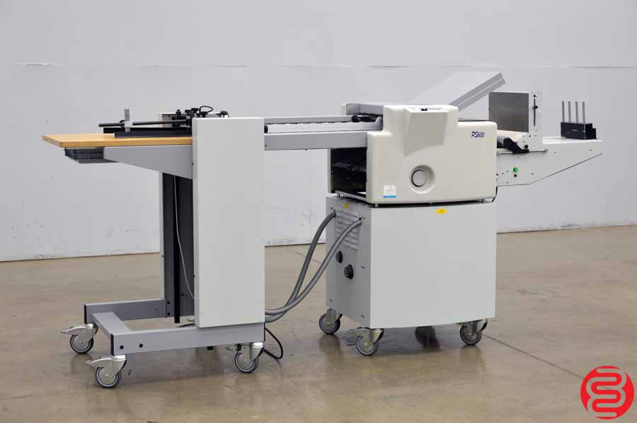 2006 Multigraf PressureSeal Pile Feed PS600 Folder Sealer