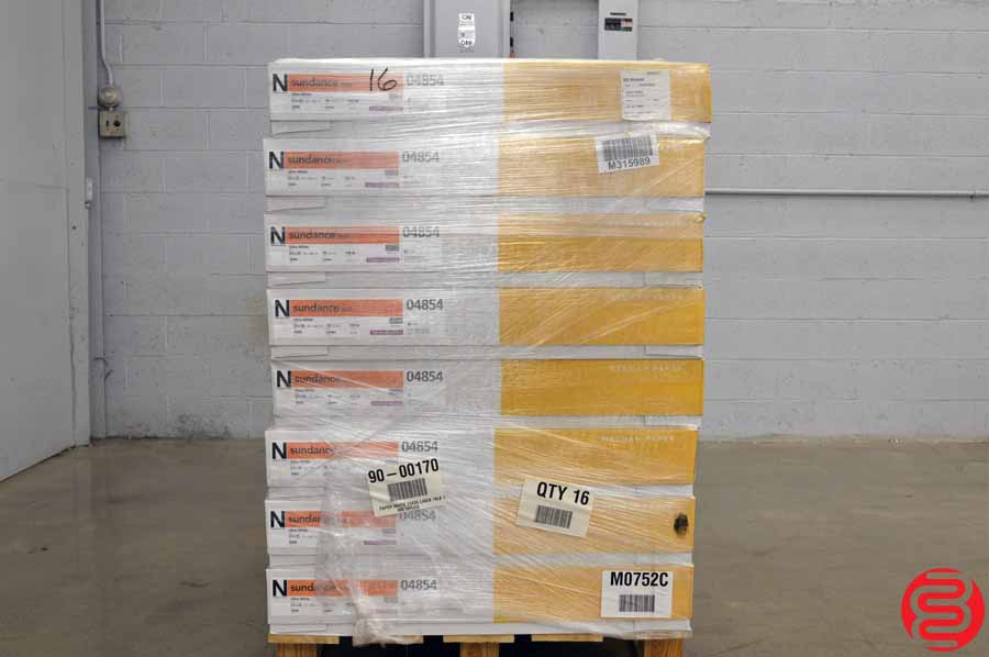 Neenah Sundance Text Ultra White 70 lb 23 x 35 Paper - Qty 16 Cases