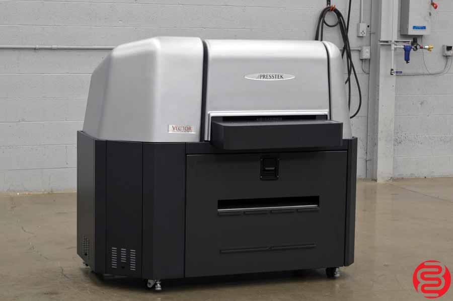 2010 Presstek Vector FL52 Computer to Plate System