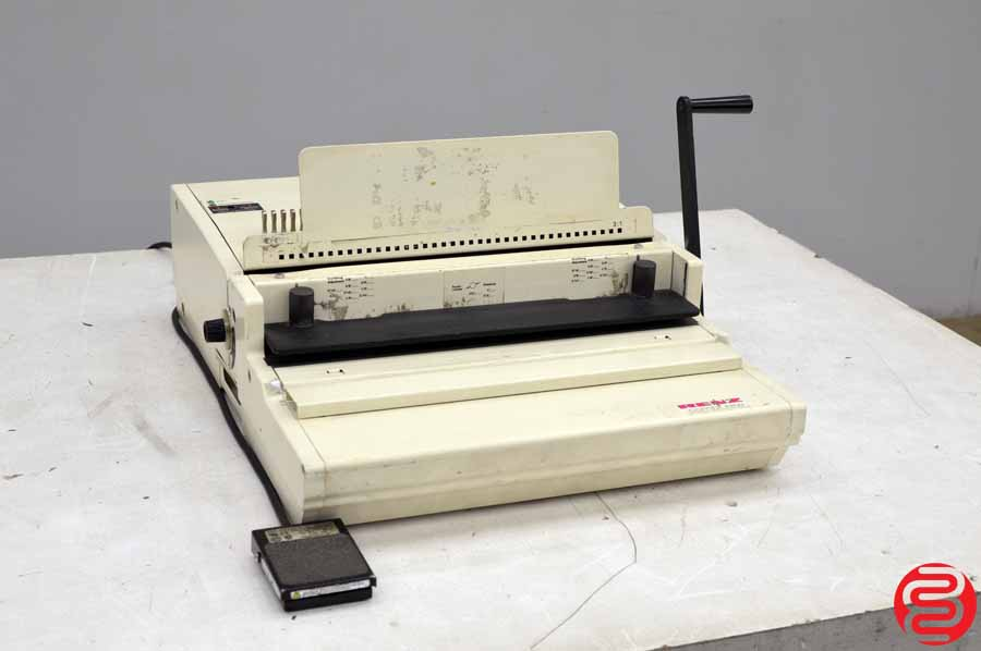 Renz ERW Comb Binding Machine