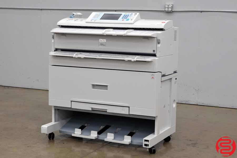 Ricoh Aficio MP W3601 Monochrome Wide Format Printer w/ Color Scanner