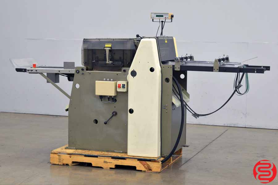 Rosback 250CA Semi-Automatic Three Knife Trimmer