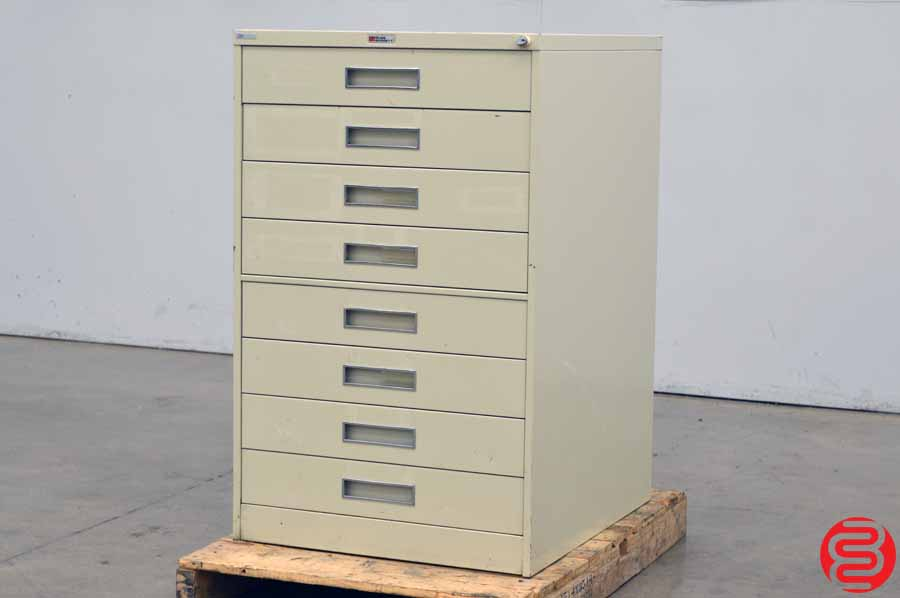 Russ Bassett 8 Drawer Cabinet