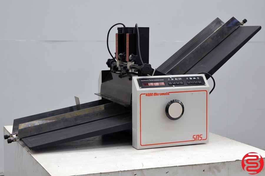 SNS 4000 Numbermatic Two Head Numbering Machine