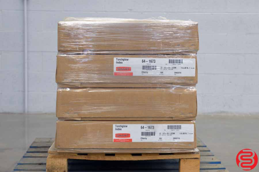 Smart Torchglow Index Smooth Cherry 110 lb 22 1/2 x 35 Paper - Qty 4 Cases
