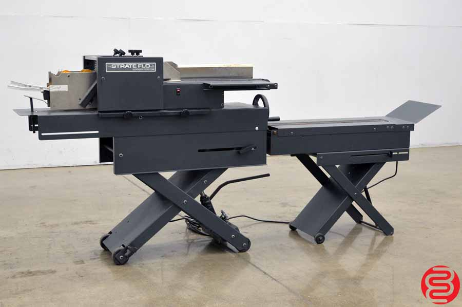 Suspension Strate Flo Envelope Feeder w/ Conveyor