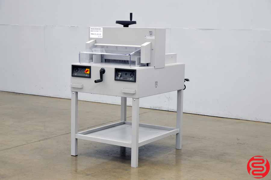 """Triumph 4810-95 19"""" Paper Cutter w/ Safety Covers"""