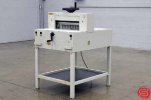 """Triumph Ideal 4810 19"""" Paper Cutter"""