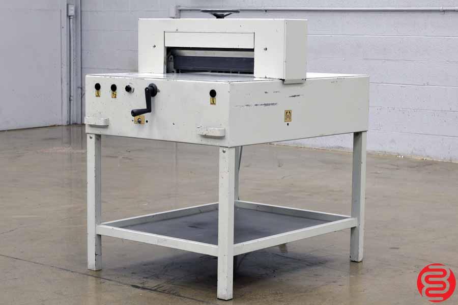 Triumph Ideal Model 5210 Paper Cutter