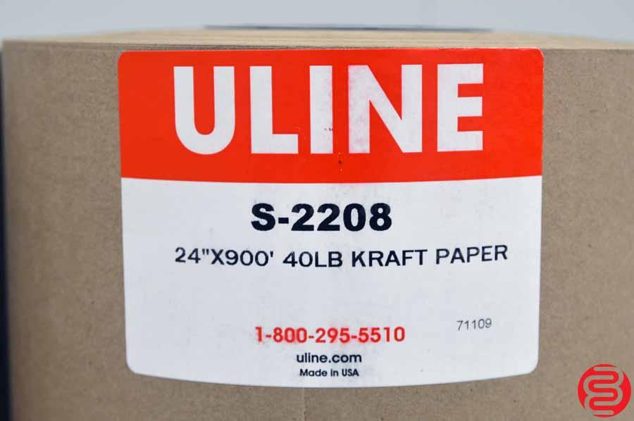 """Uline 24"""" x 900' 40 lb Kraft Paper"""