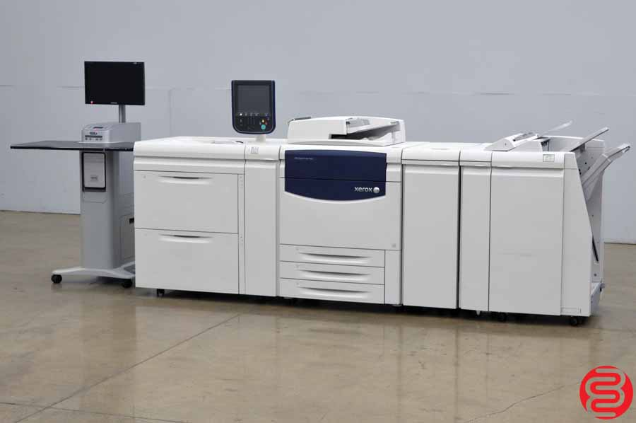 Xerox 700i Color Digital Press w/ High Capacity, Finisher, and Fiery Print Server
