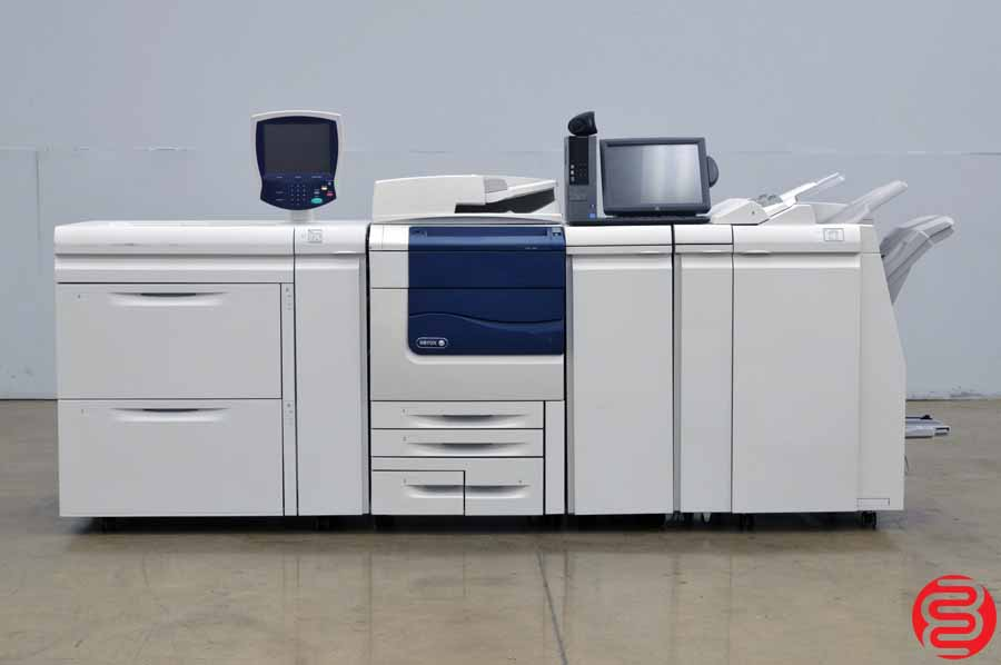 Xerox Color 560 Digital Press w/ High Capacity Tray, Finisher and Booklet Maker