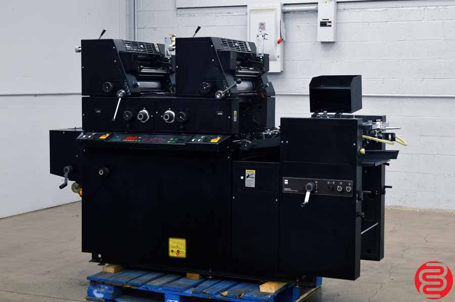 AB Dick 9985 Two Color Offset Printing Press