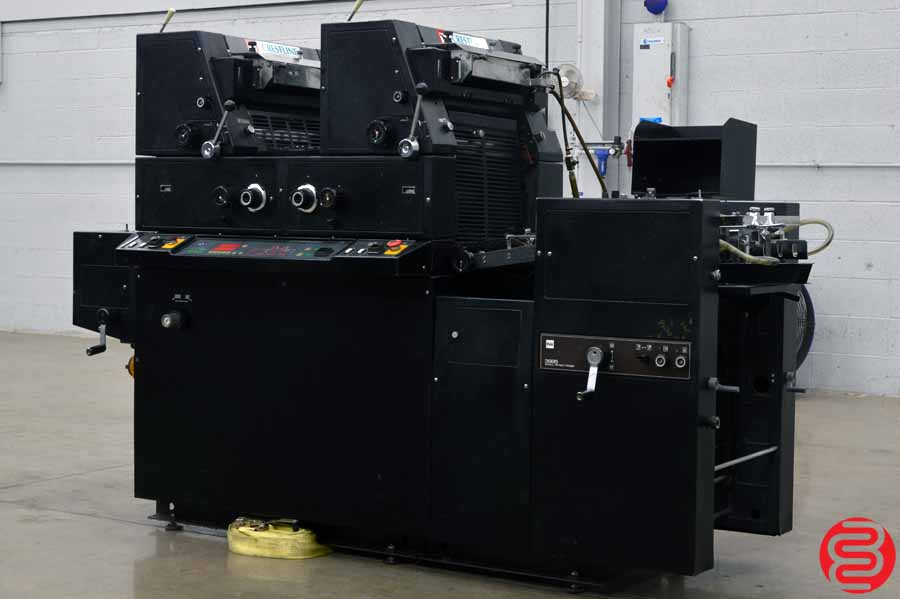AB Dick 3985 Two Color Offset Printing Press