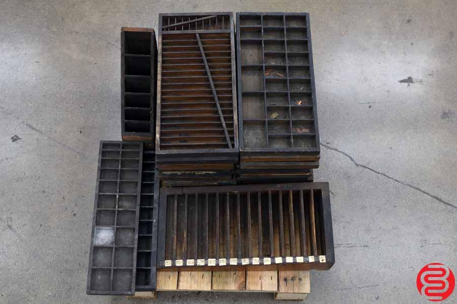 Assorted Letterpress Sort Trays