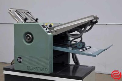 Baum 714 Ultrafold Vacuum Feed Paper Folder