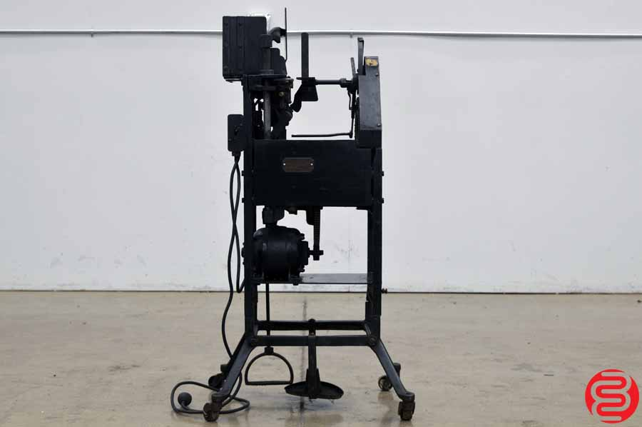 Bunn Antique Package Tying Machine
