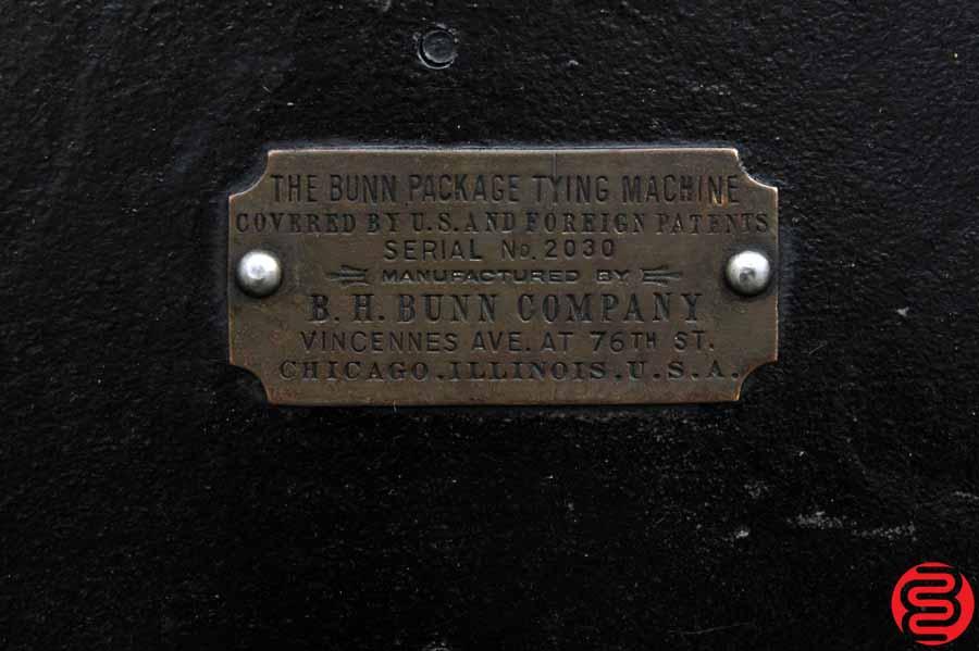 Bunn Antique Package Tying Machine