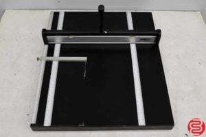 """COME 1900A 19"""" Paper Perf Slit Score Machine"""