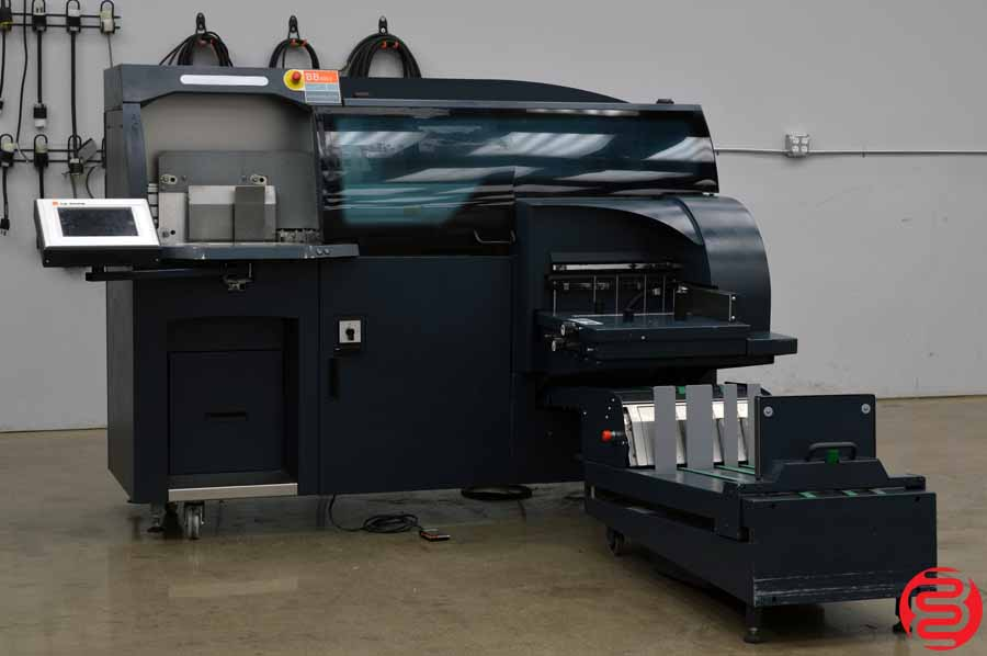 2013 CP Bourg BB3002 Automatic Perfect Binder w/ Delivery Conveyor