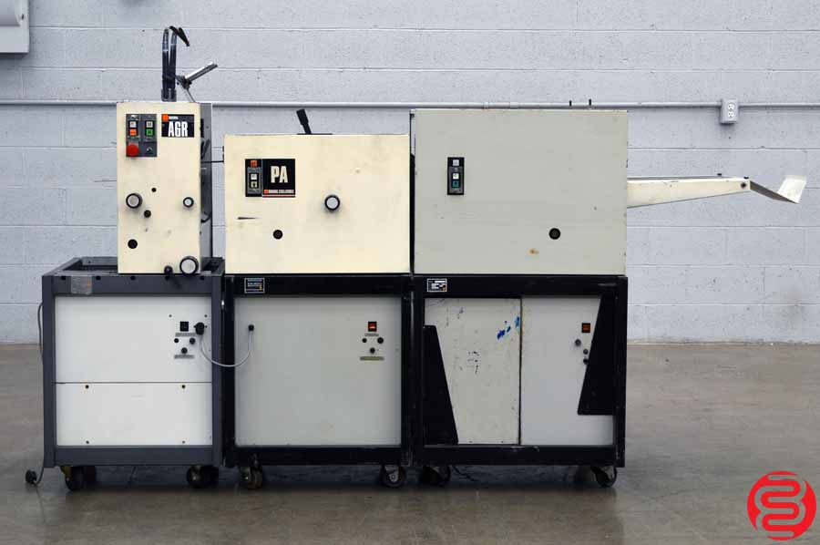 CP Bourg Booklet Making System w/ Stitcher, Folder, and Trimmer