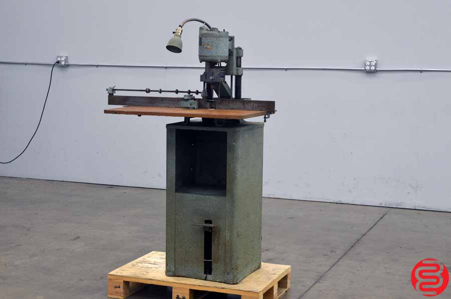 Challenge Model F Single Spindle Hydraulic Paper Drill